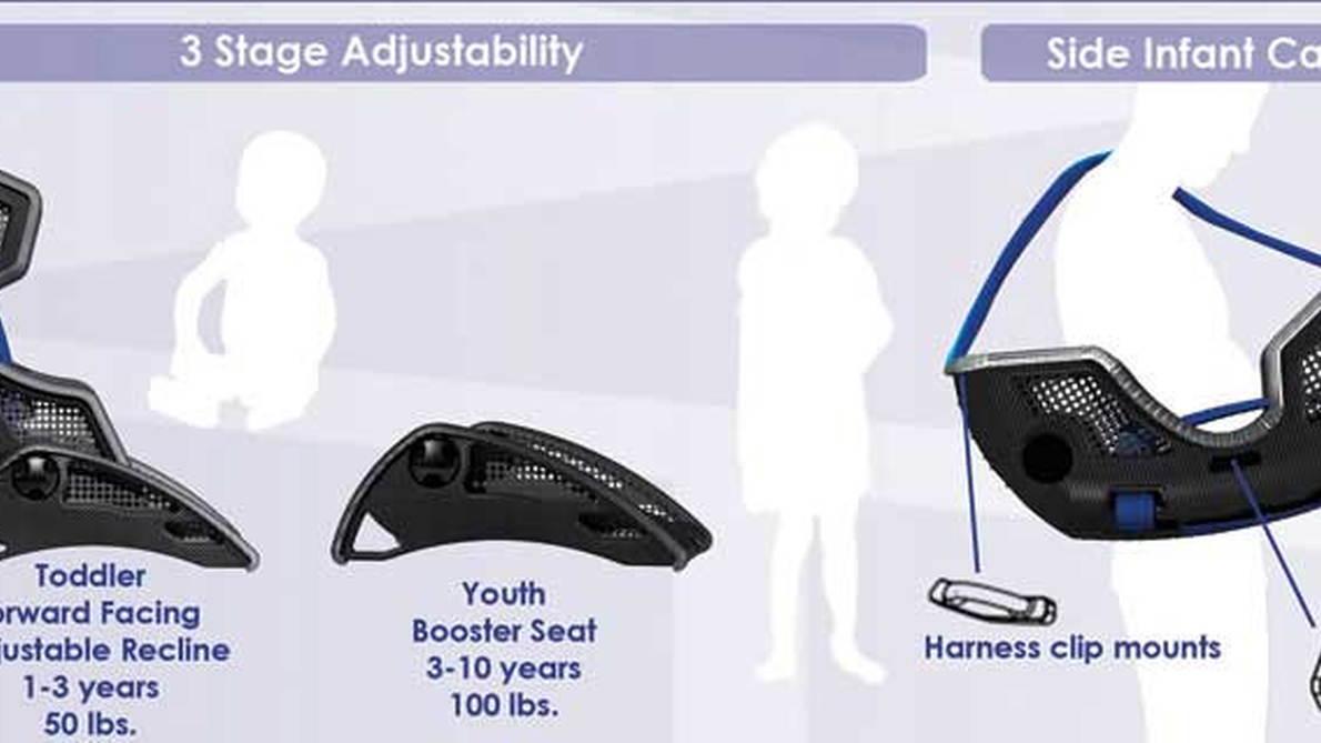 carbon fiber child seat 004