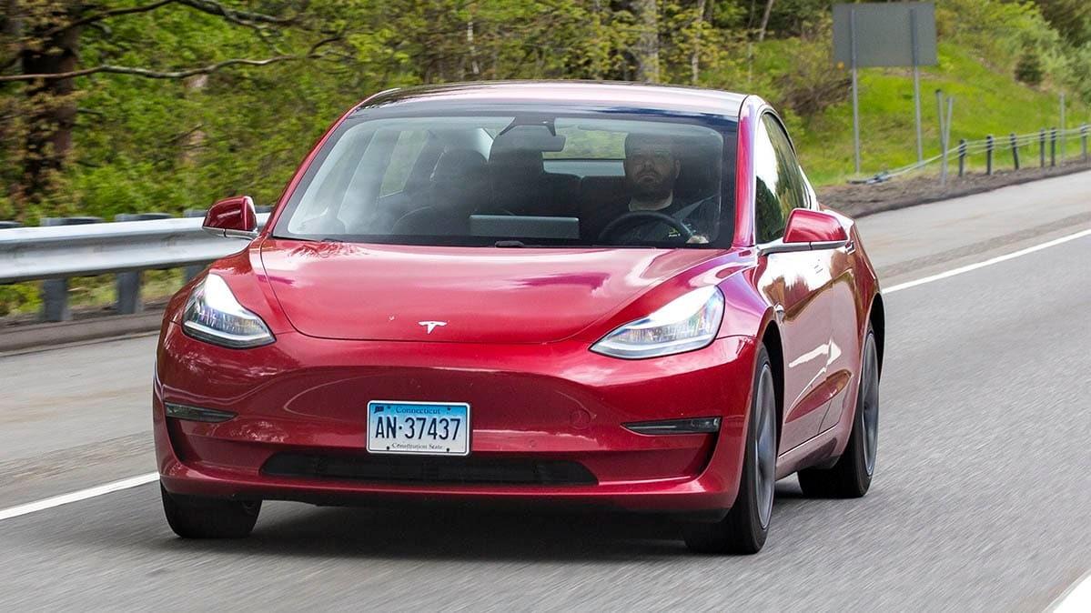 Consumer Reports Tesla Model 3 testing Navigate on Autopilot [CREDIT: Consumer Reports]