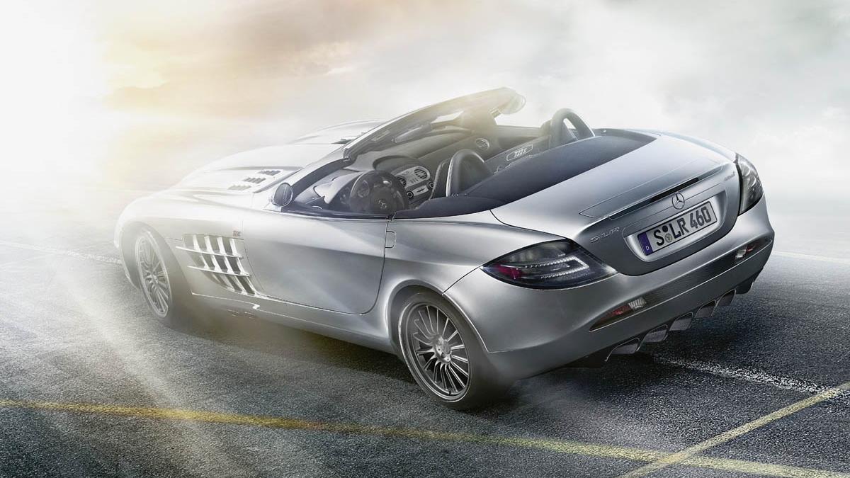 2008 mercedes mclaren slr 722s roadster 007