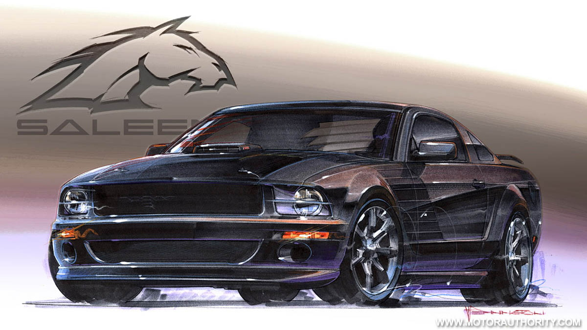 2009 saleen ford mustang dark horse 004
