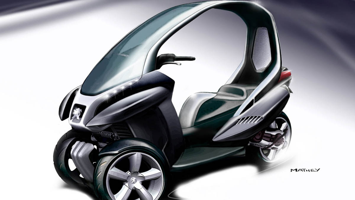 peugeot hymotion3 compressor concept 007
