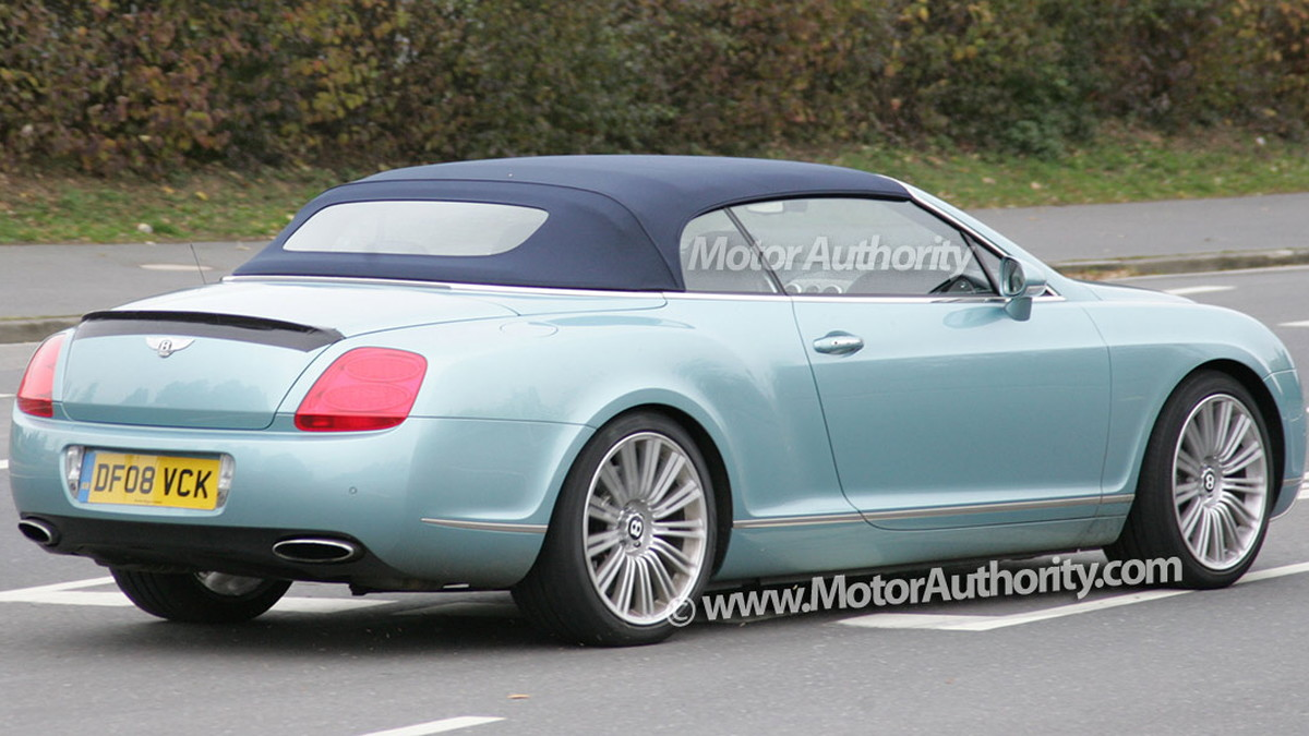 2010 bentley continental gtc speed spy shots oct 007