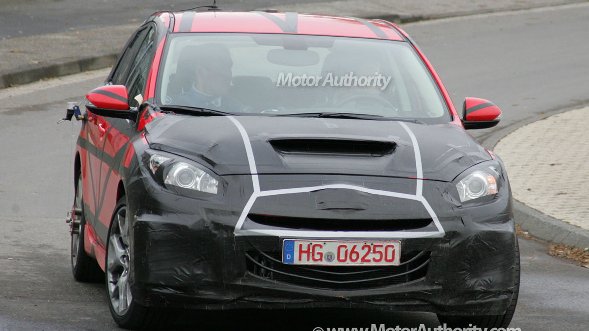 2010 mazda 3 mps spy shots oct 007