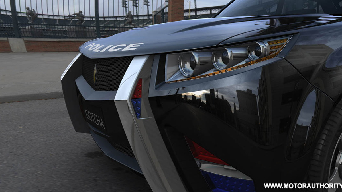 carbon motors e7 police car 004