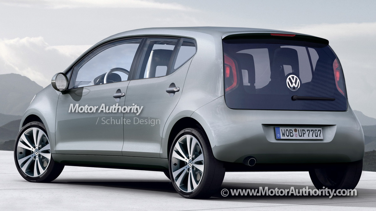 vw lupo four door rendering 001