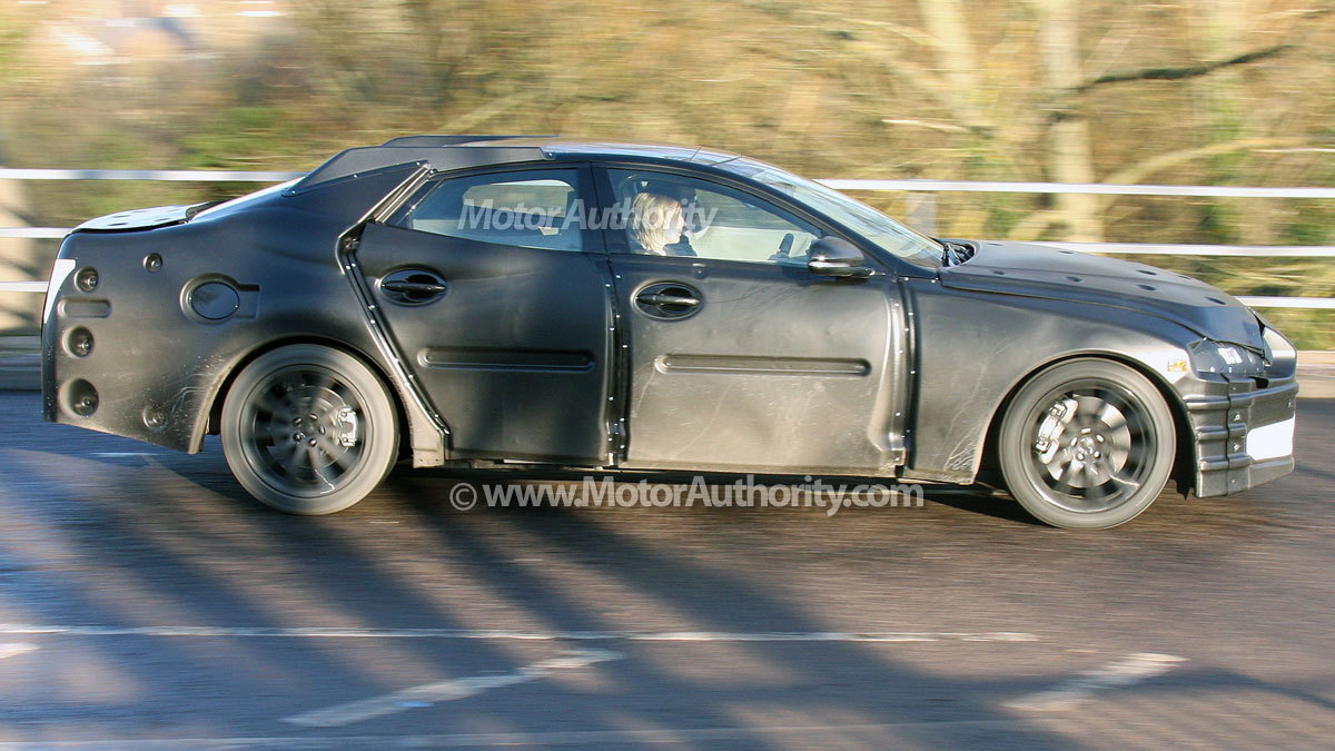 next gen jaguar xj spy shots 006