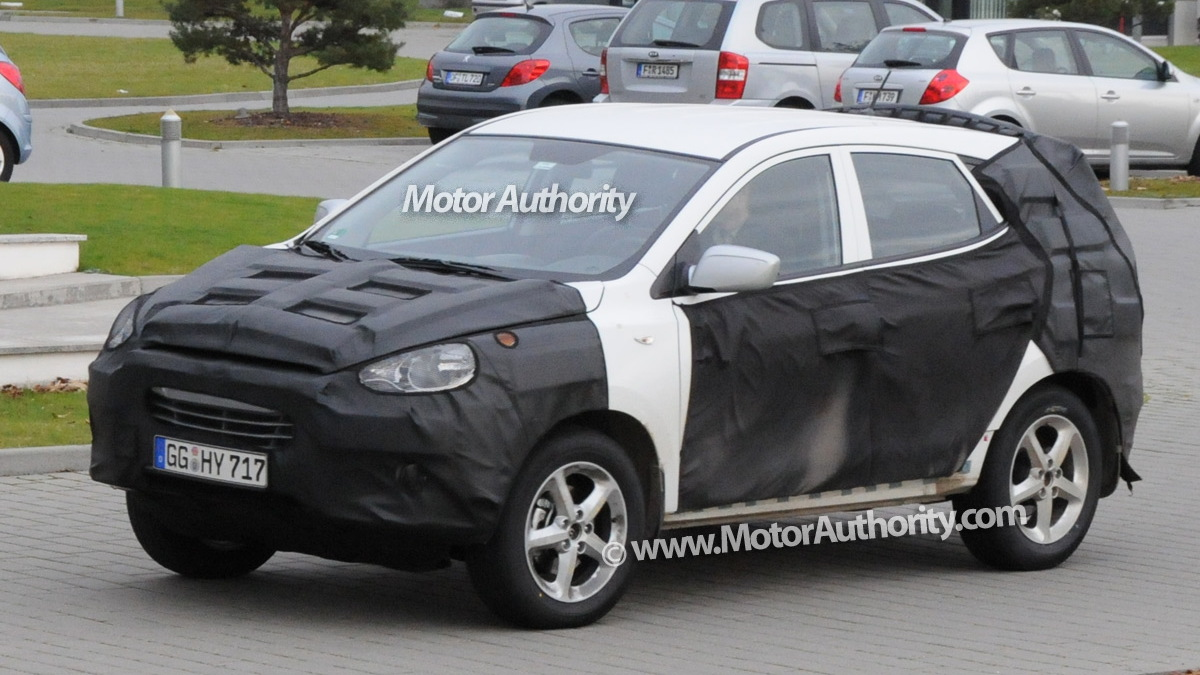 2010 hyundai tucson spy shots december 006