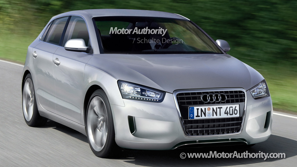 audi a2 rendering 001