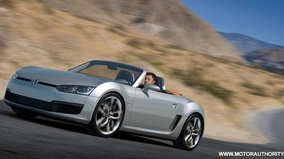 2009 volkswagen bluesport roadster concept 009