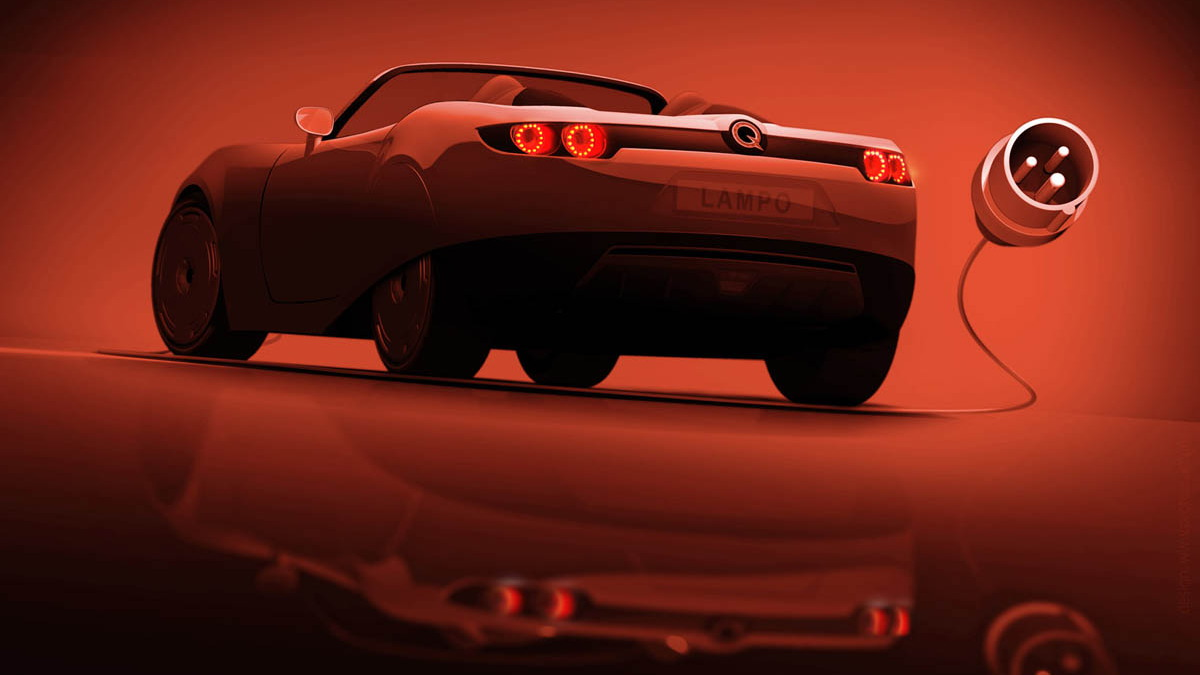 protoscar lampo electric roadster teaser 001