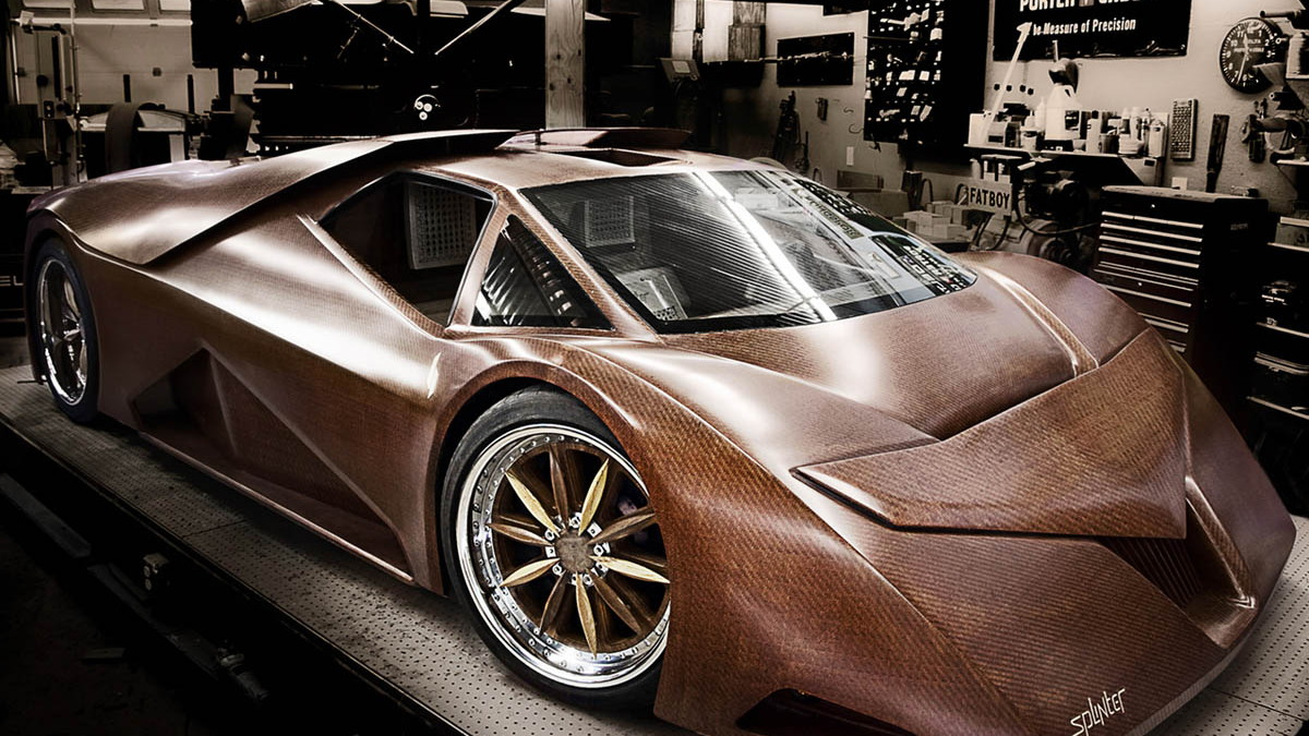 splinter wooden supercar 001