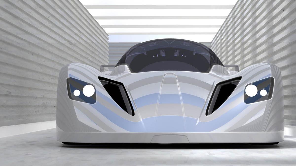 formula ae wind powered sports car 001