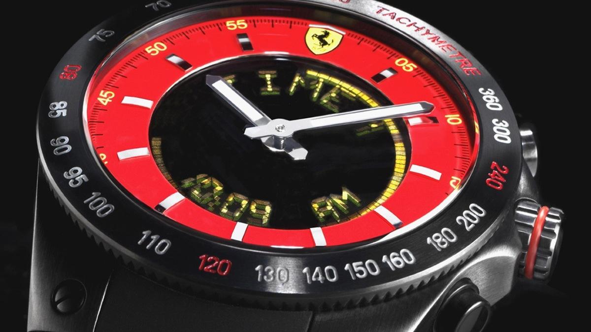 ferrari lap time chronograph 002
