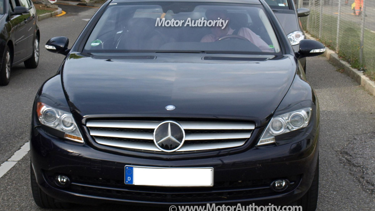 mercedes benz cl facelift motorauthority 004