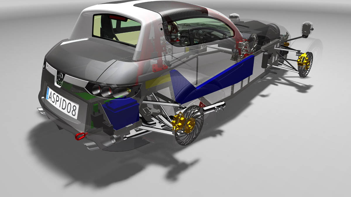 Aspid Sports Car Revealed At British Motor Show
