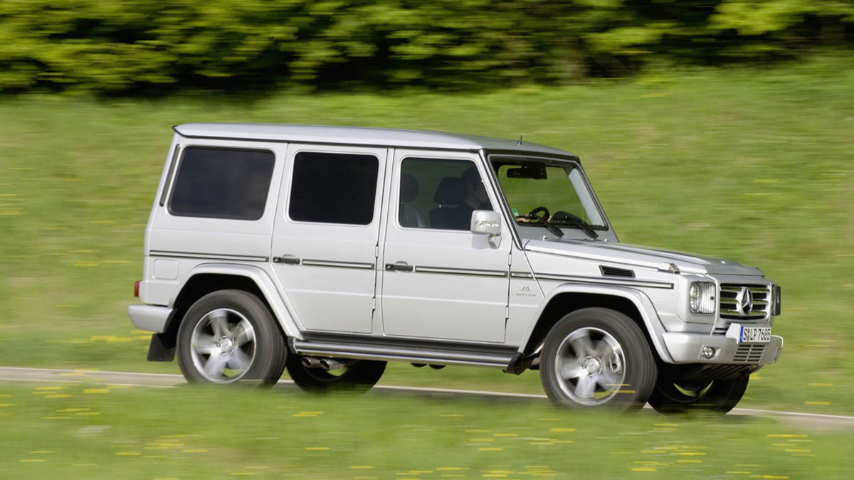mercedes g55 amg motorauthority 01