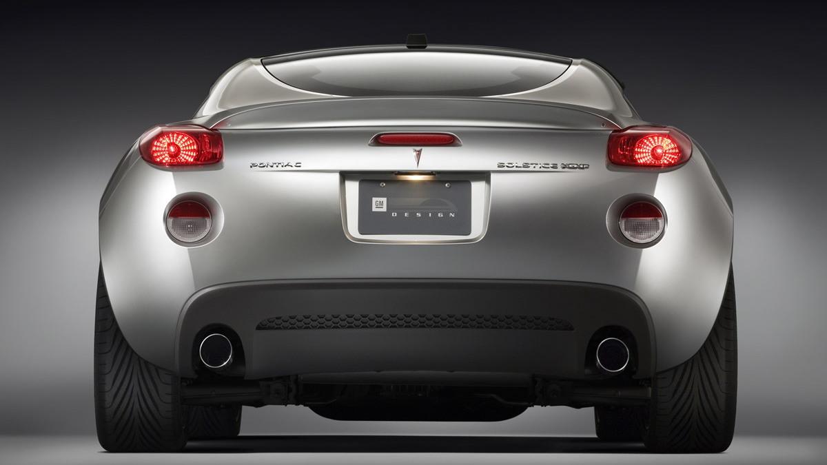 Gm Performance Parts Enhanced Pontiac Solstice Gxp Coupe
