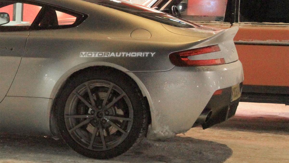 Spy Shots: Aston Martin Vantage facelift