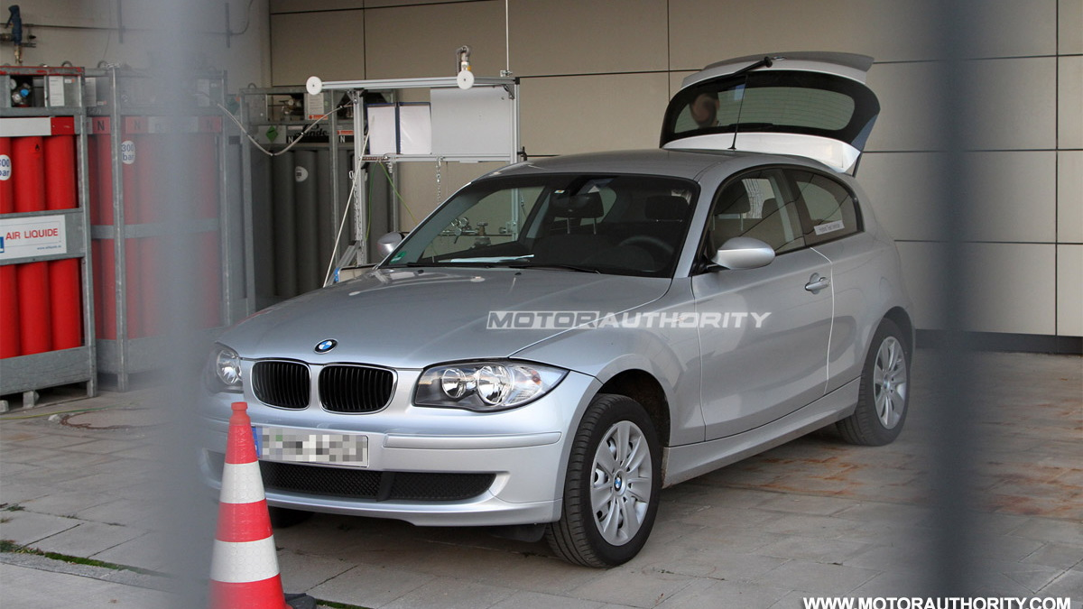 BMW 1-Series MINI hydrogen Hybrid Prototype