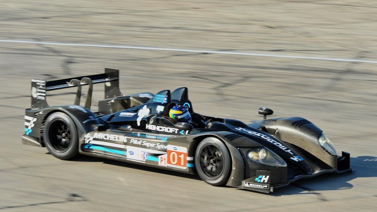 2011 Highcroft Racing HPD ARX-01e ALMS race car
