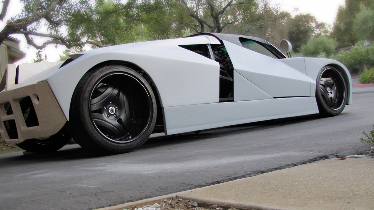 Adam Pintek's Ford GT90 project