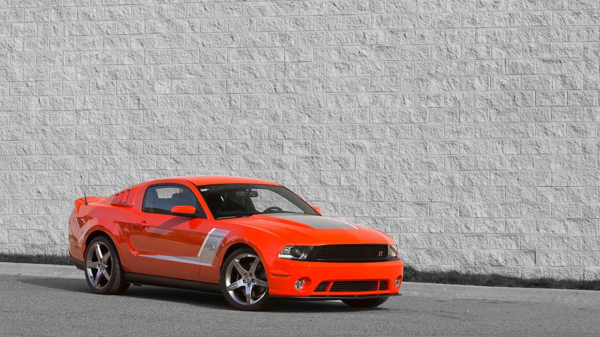 2012 ROUSH Stage 3 Premier Mustang. Image: ROUSH Performance