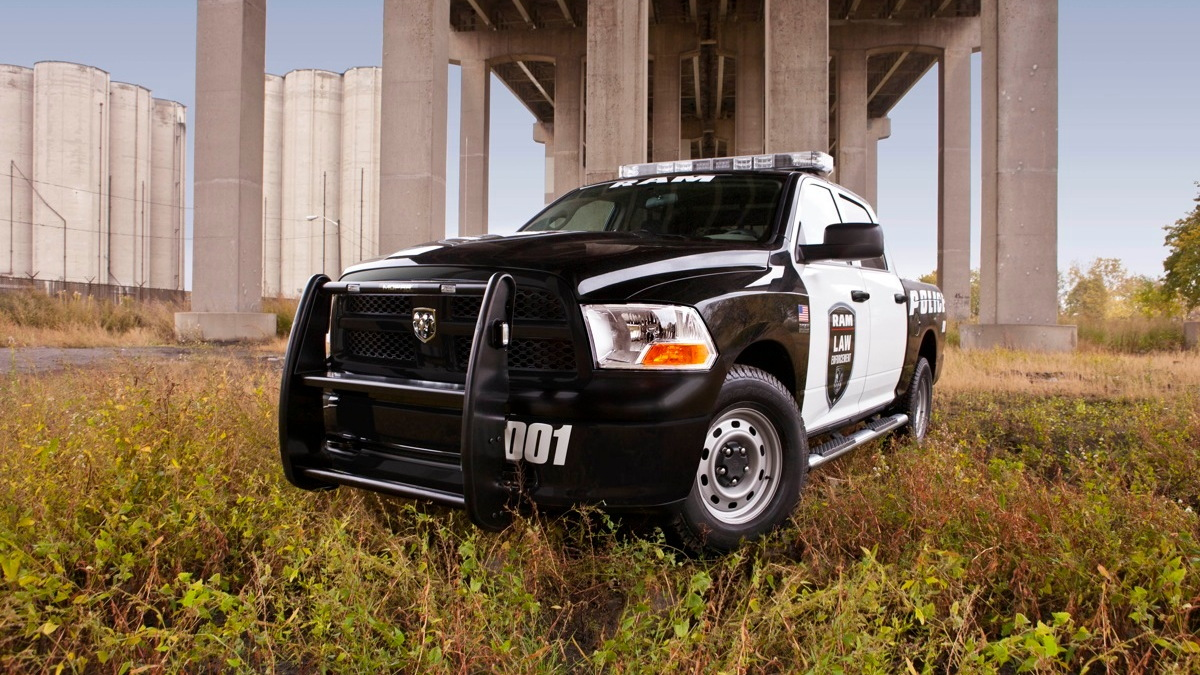 The 2012 Ram Special Service pickup. Image: Chrysler Group LLC