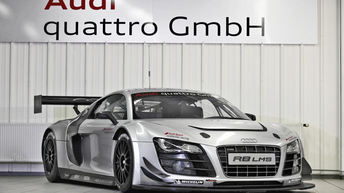 Audi's 2012 R8 LMS ultra