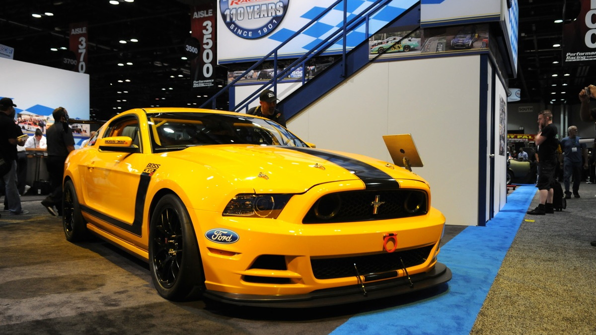 Ford's Mustang Boss 302SX concept. Image: Ford