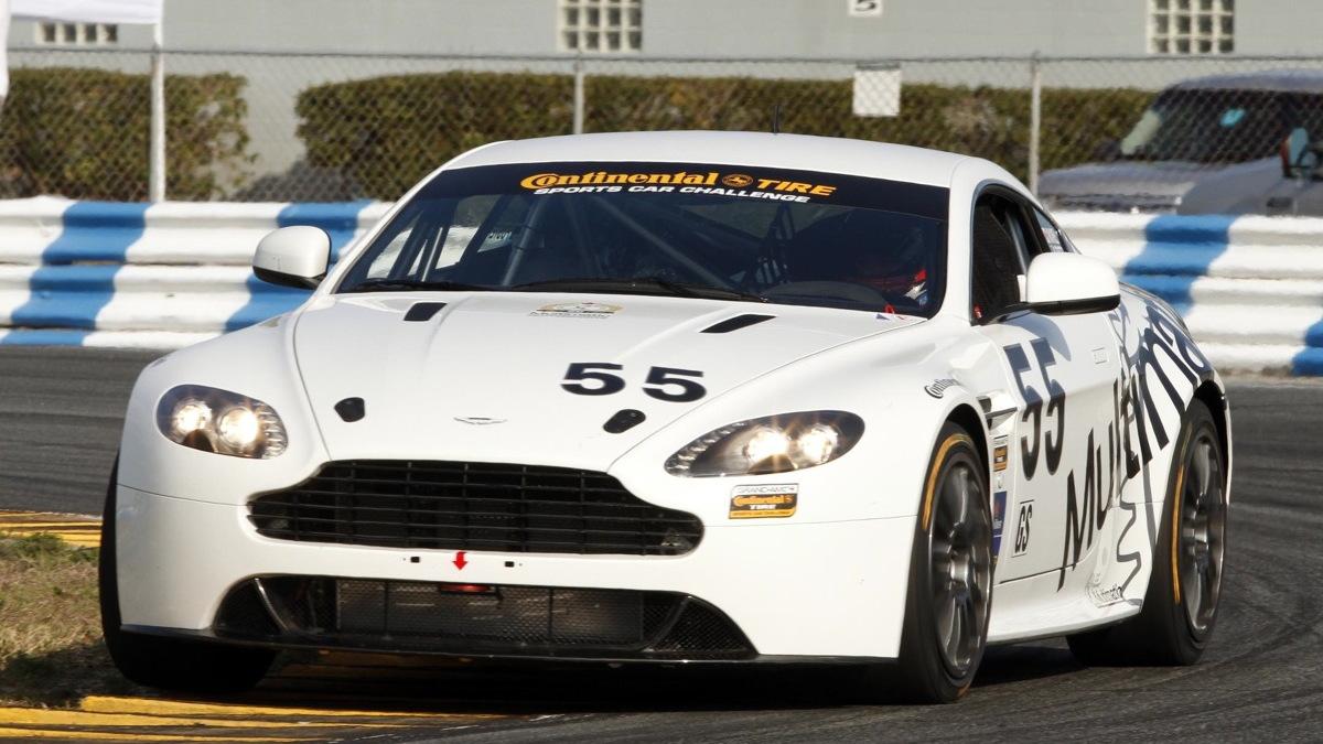 Aston Martin's Vantage GT4