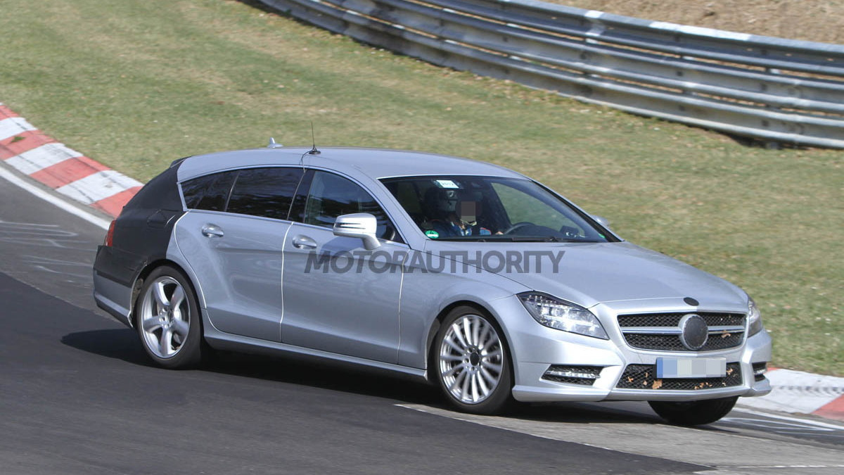 2013 Mercedes-Benz CLS Shooting Brake spy shots