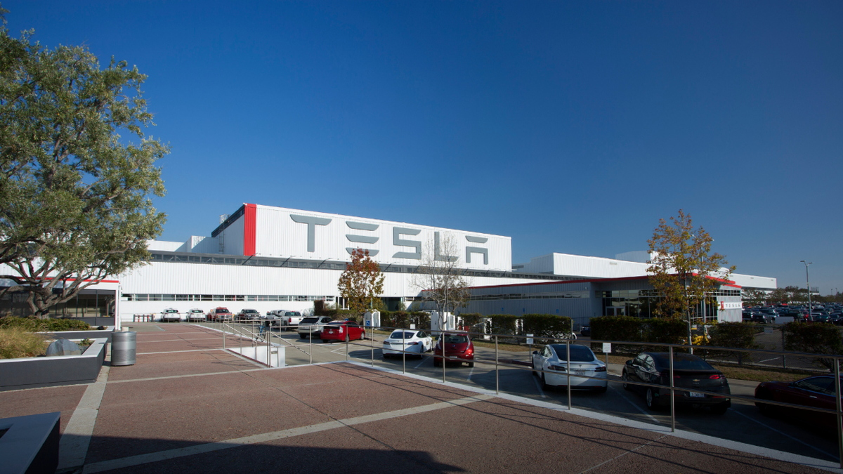 Tesla factory, Fremont, California