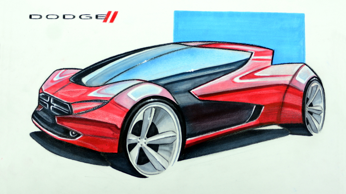 2015 FCA design contest. Second place sketch by Conner Stormer.