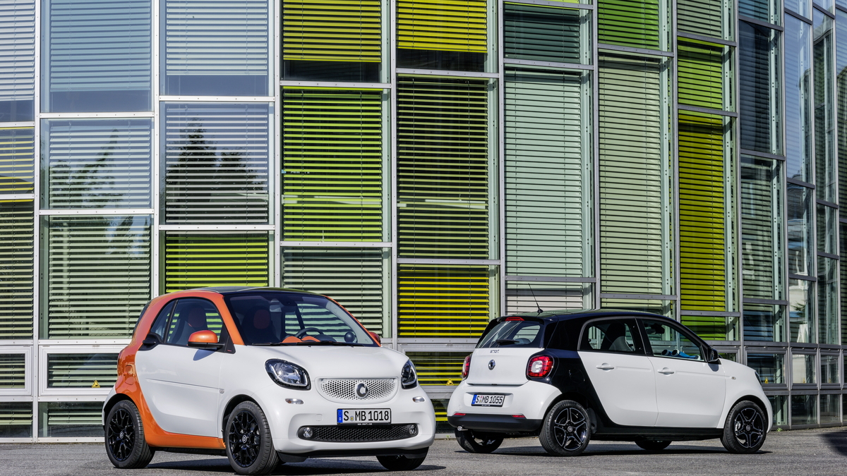2016 Smart ForTwo (European version) - First Drive, Barcelona, Nov 2014