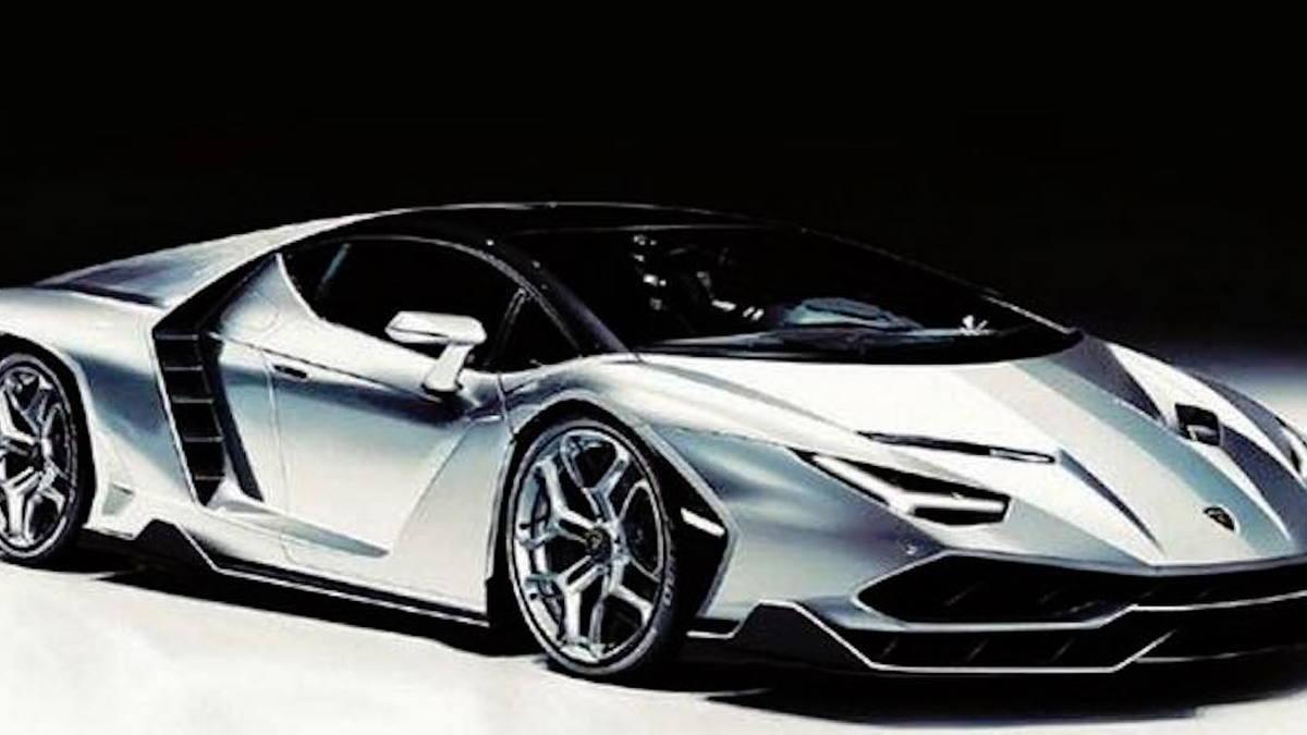 Lamborghini Centenario Lp 770 4 Leaked Ahead Of Geneva