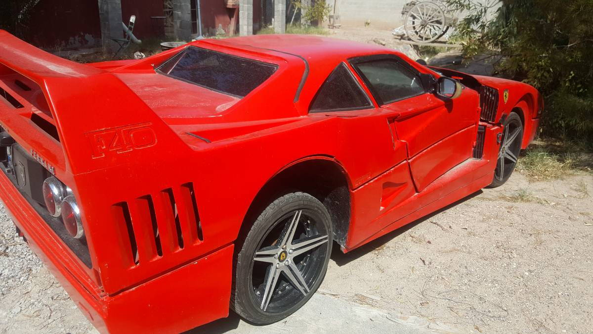 Nissan Sentra-based Ferrari F40 replica