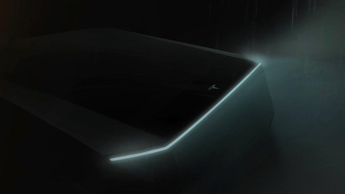 Tesla pickup truck teased by Elon Musk on Twitter