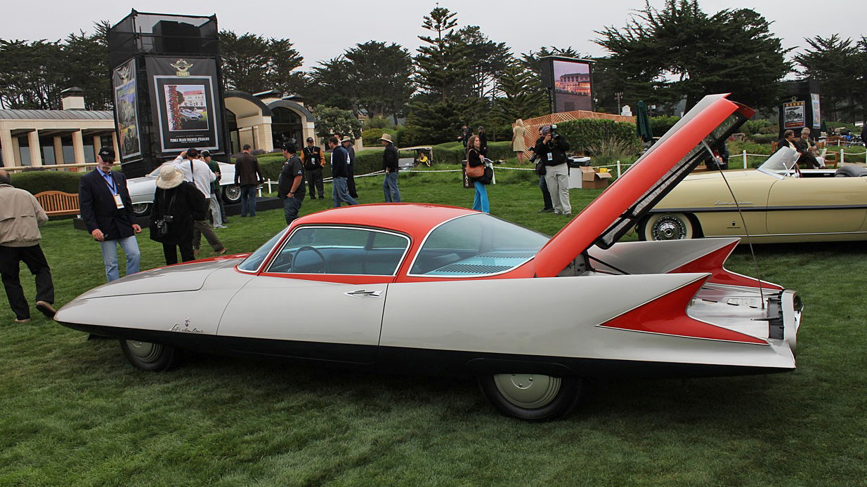 "1955 Ghia Streamline X ""Gilda"" 2 Door Fastback Coupe"