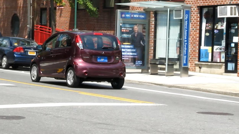 2012 Mitsubishi i, City Island, NY, Aug 2012