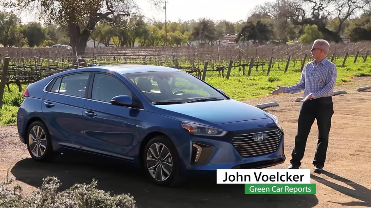 2017 Hyundai Ioniq video road test with Green Car Reports editor John Voelcker