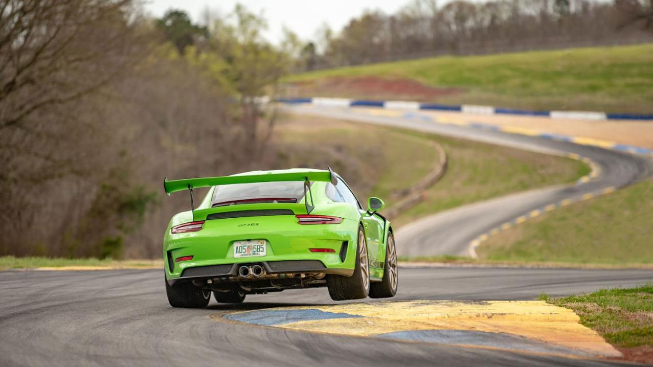 Porsche 911 GT2 RS sets Road Atlanta lap record, 2019