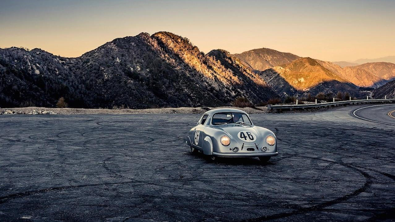 Porsche's first Le Mans-winning car: 356 coupe