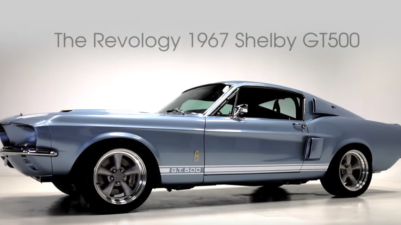 Revology offers a modern 1967 Shelby GT500 for $219,000