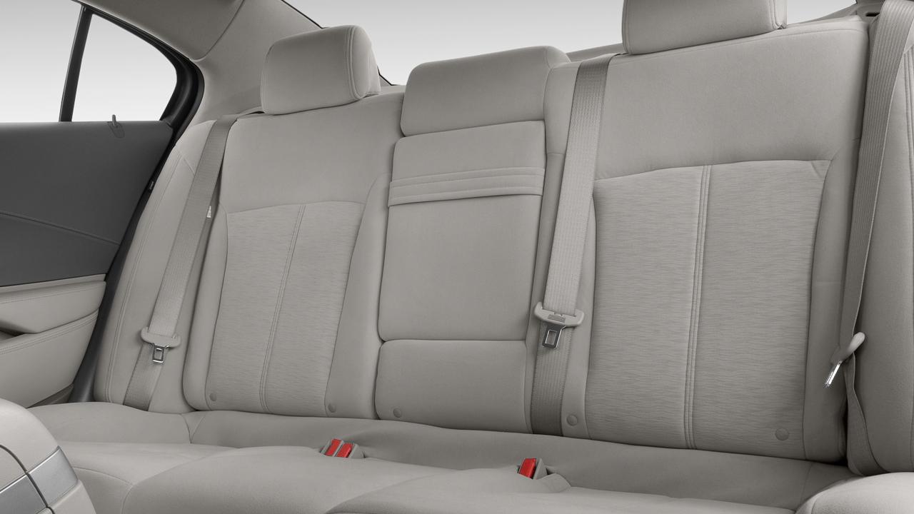 2010 Buick LaCrosse 4-door Sedan CX 3.0L Rear Seats