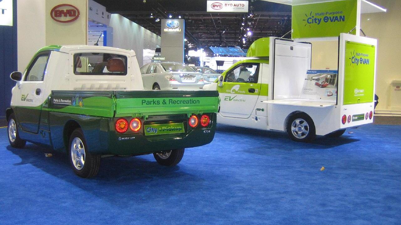 EV Electric City ePickup, Electric Avenue, 2010 Detroit Auto Show