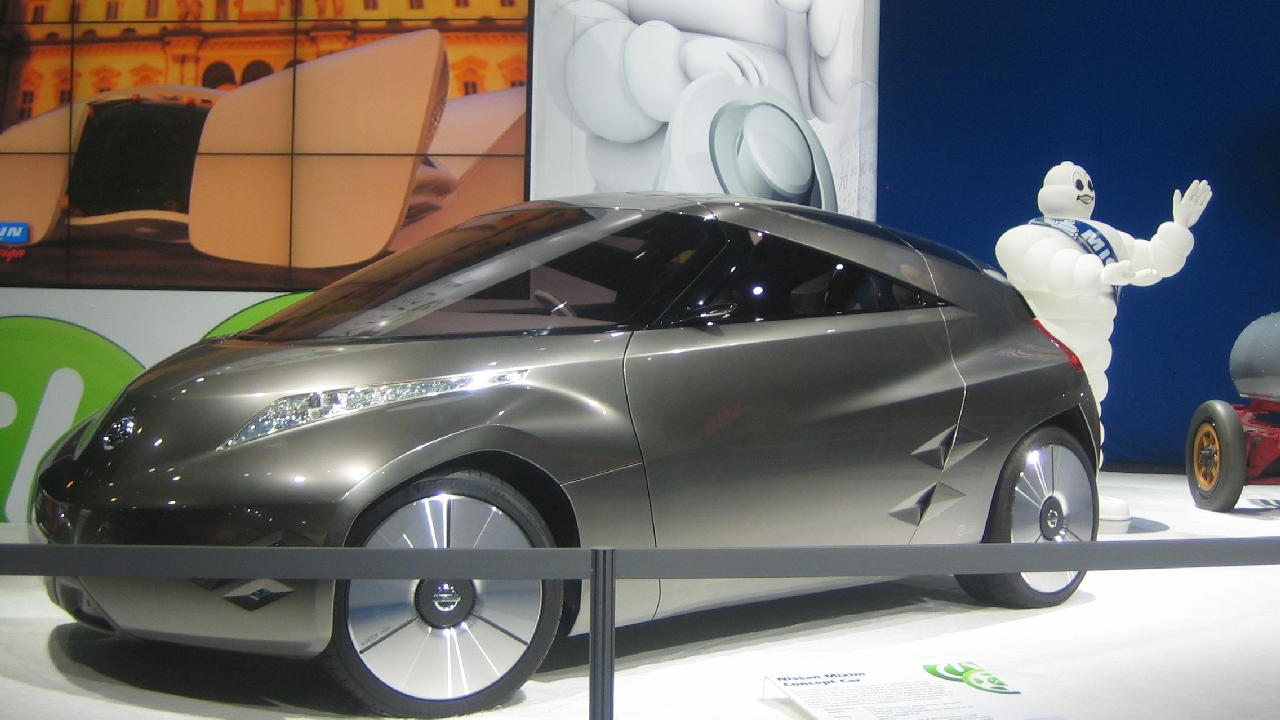 Nissan Mixim, Electric Avenue, 2010 Detroit Auto Show