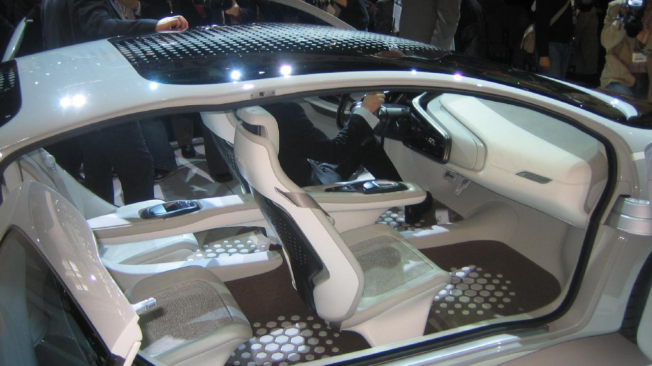 Kia Ray plug-in hybrid concept car, 2010 Chicago Auto Show