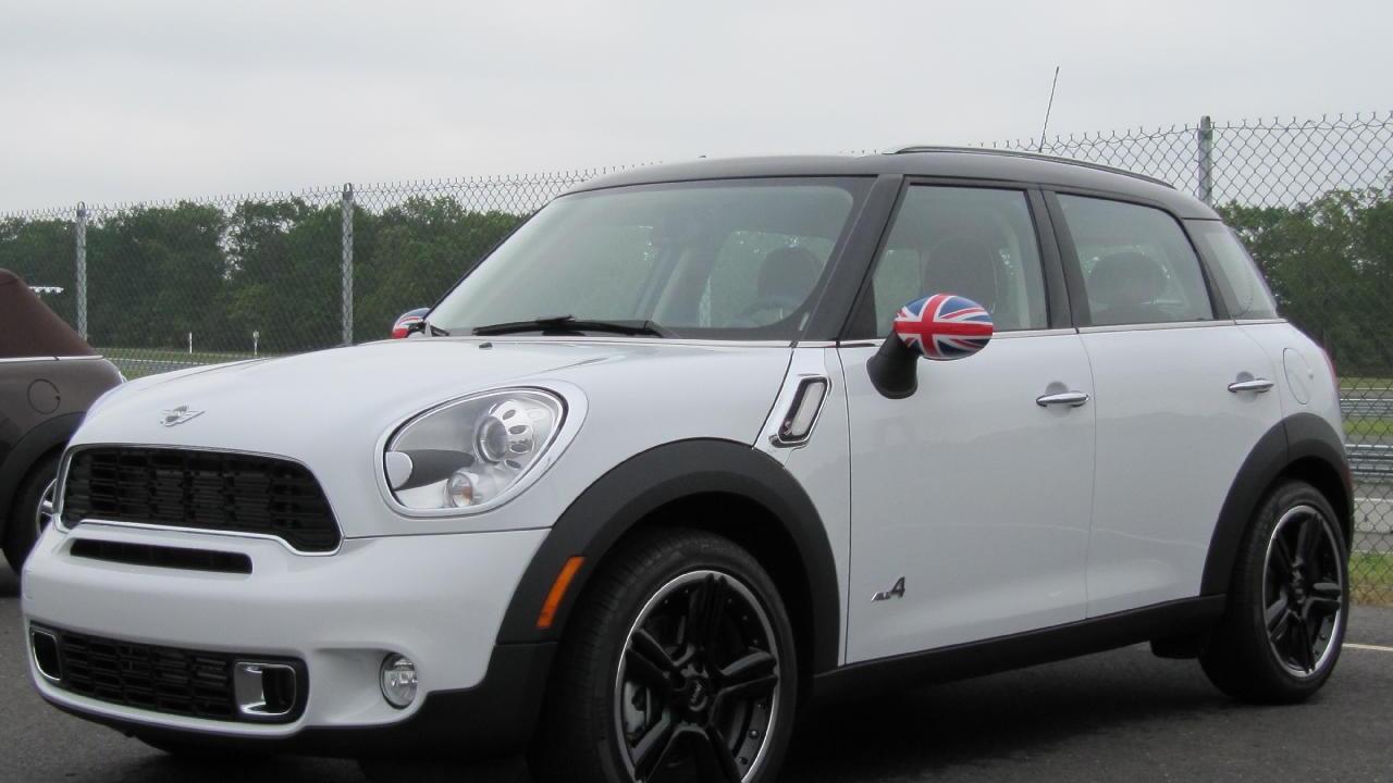 2011 Mini Countryman, shown at NJ Motorsports Park, May 2010