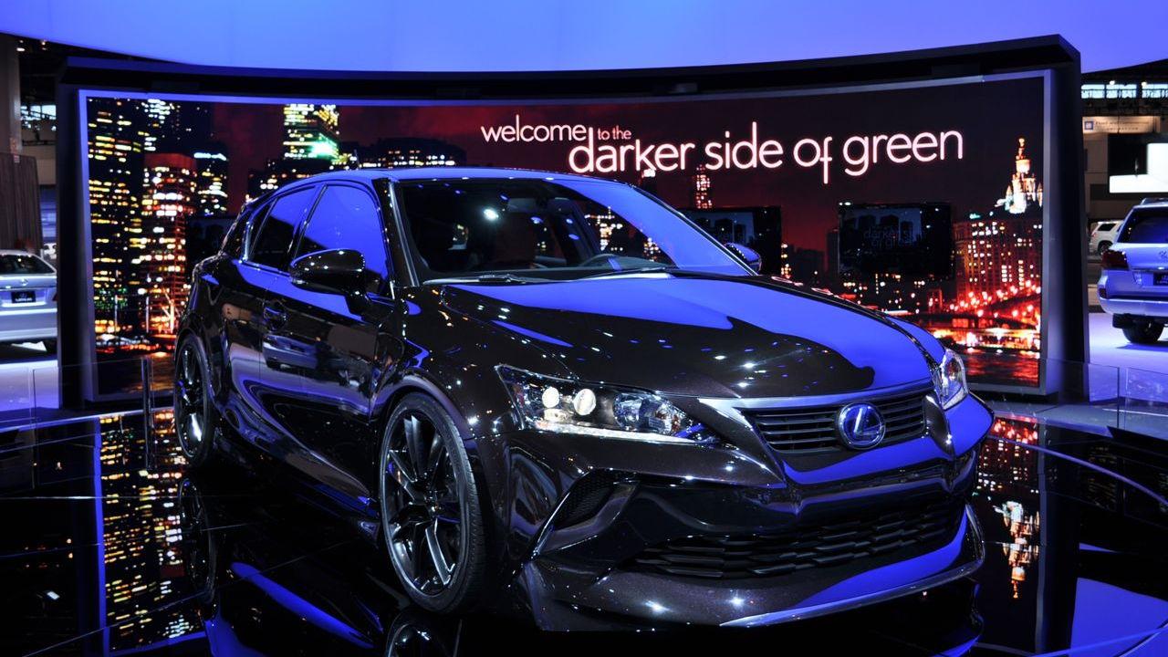 Five Axis Lexus CT 200h