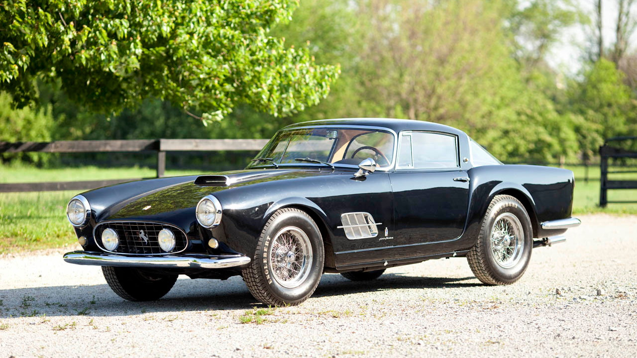 1957 Ferrari 410 Superamerica Series II Coupe. Photo via Gooding & Co.